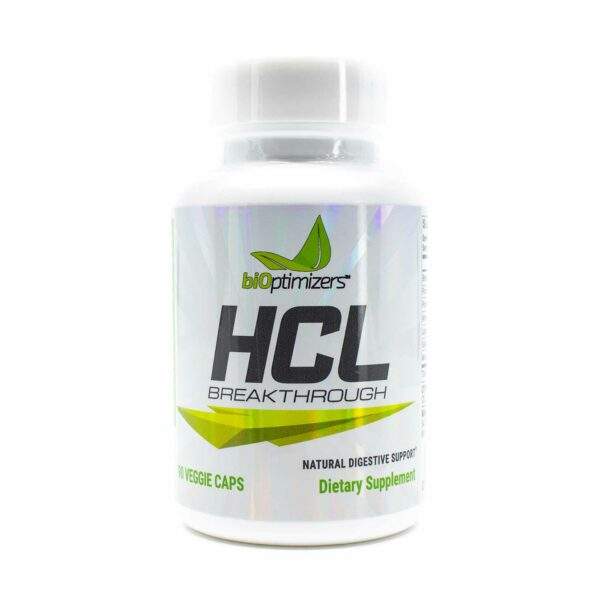 One bottle of biOptimizers HCL Breakthrough 90 Caps
