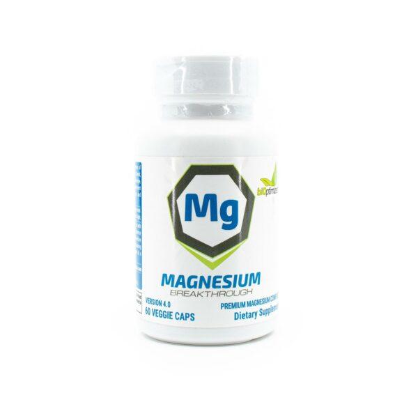 One bottle of BiOptimizers Magnesium Breakthrough with 60 caps