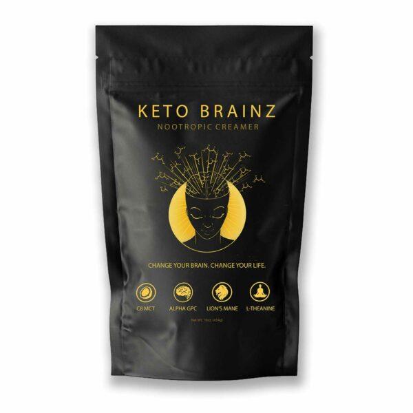 Packshot of Keto Brainz Nootropic Creamer